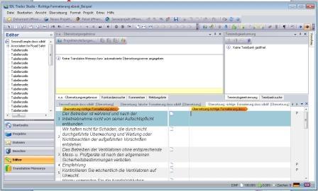 Textanalyse-Software für Übersetzungen